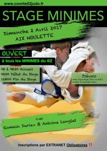 Stage Départemental Minimes @ Aix Noulette | Saint-Mandé | Île-de-France | France