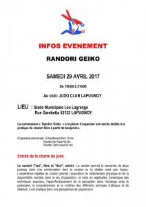 Randori Geïko @ Lapugnoy | Lapugnoy | Hauts-de-France | France