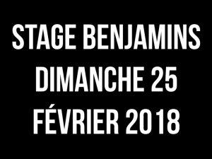 STAGE BENJAMINS @ @ LA ROTONDE BÉTHUNE