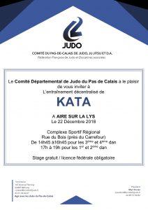 Entraînement KATA 62 @ Aire sur la Lys