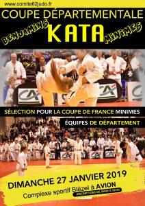 Coupe Départementale KATA Benjamins & Minimes (sélection) @ AVION | Avion | Hauts-de-France | France