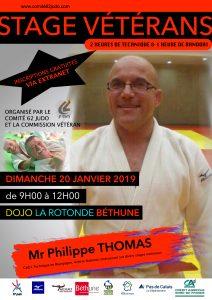 STAGE VÉTÉRANS DU 62 avec Philippe THOMAS @ Béthune | Béthune | Hauts-de-France | France