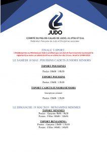 Finale Tsport Poussins (es) cadets(tes) juniors sénoirs @ BULLY-LES-MINES