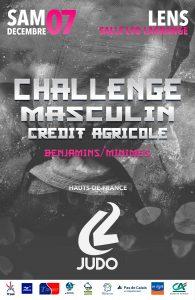 Challenge Crédit Agricole Masculins Benjamins (es) HAUTS DE FRANCE