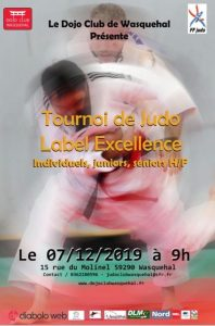 Tournoi de Judo label excellence