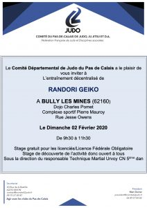 RANDORI GEÏKO @ BULLY-LES-MINES