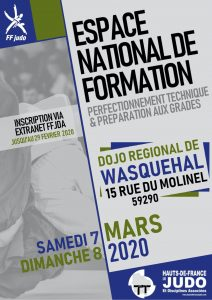 Stage National de formation