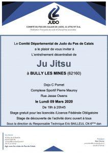 Entraînement départemental Jujitsu @ BULLY-LES-MINES