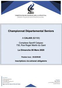 Championnat départemental Séniors à Calais